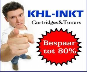 KHL Inkt cashback