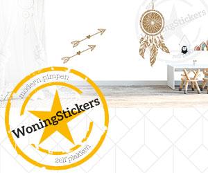 Woningstickers.nl cashback