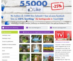 Tuinposter.be cashback