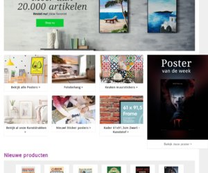 Posters.be cashback
