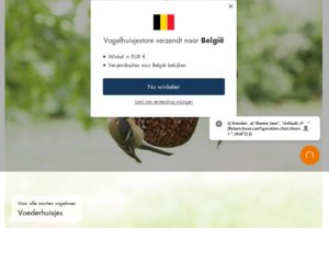 Vogelhuisjestore.nl cashback