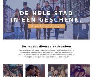 Cadeaubon Antwerpen cashback