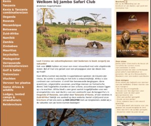 Jambo Safari Club cashback