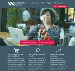 Webshop-beginnen.be cashback
