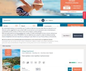 Pierre et vacances.com cashback