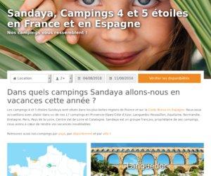 Sandaya Campings  cashback