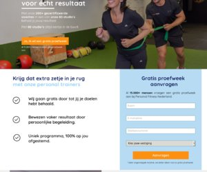 Personal Fitness Nederland cashback