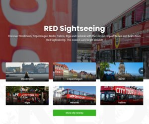 RED Sightseeing cashback