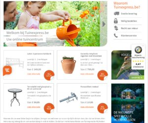 Tuinexpress.be cashback
