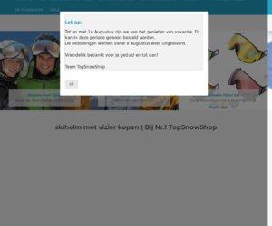 Wintersport helmen cashback