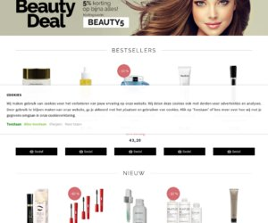 Beautyfashionshop cashback