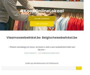 Vlaamsewebwinkel.be cashback