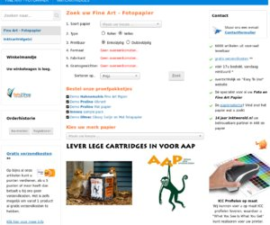Inktwereld.be cashback