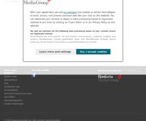 Roularta Abonnement Shop NL cashback