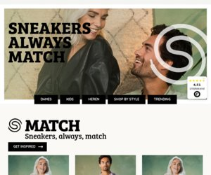 Sneakersstores.be cashback