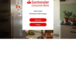 Santander Consumer Finance BE cashback